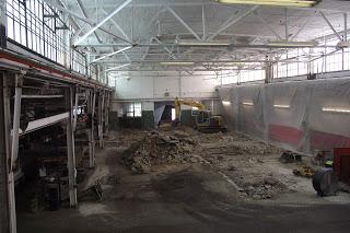 Barnes International Shop Floor Remodeling Barnes