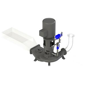 high-flow low profile zero pump